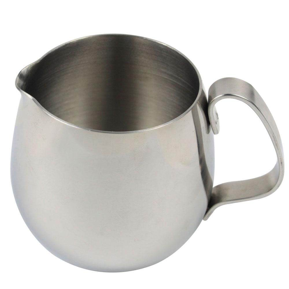 Yooc Thicken Stainless Steel Drum Milk Cup Frothing Pitcher (light Grey, 300ml) - Intl By Wangpai Voos