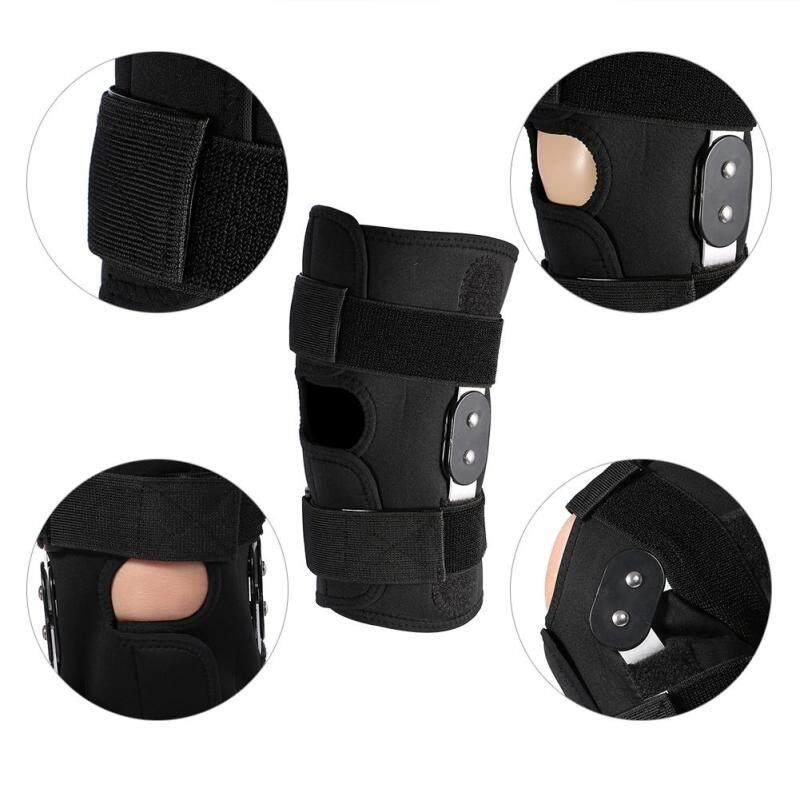 YOSOO Adjustable Knee Brace Pad Protector Compression Sleeves Safety Strap (XL)
