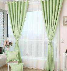 Veecome  Heat Insulation Shading Partition Curtain Star Pattern Sky Blue 130*150 cm Size:130*150 cm Home Lighting