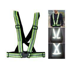 Z-Direct Reflective Vest Waistcoat Safety Clothing (Black)