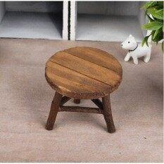 Zakka Mini Chair Mini Desk Photography Props Round