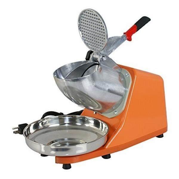 Zeny Elektrik Es Shaver 300 W 1400r/Min W/Pedang Anti Karat Shaved Es Salju Cone Maker Dapur mesin (Oranye) -Internasional