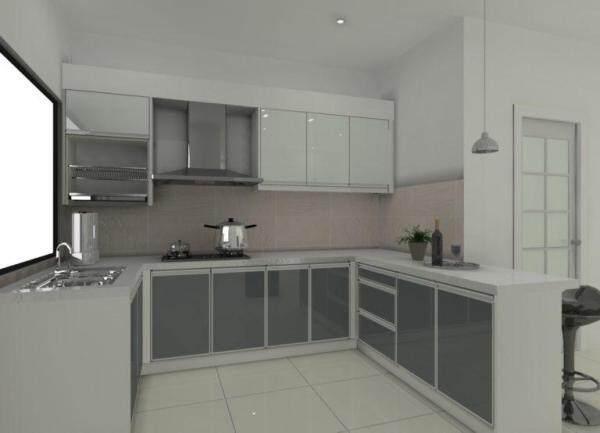 KYK Hg Kabinet Wallpaper Grey glossy 10M