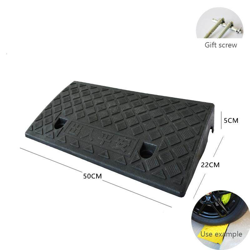 Motorcycler Road Curb Ramp triangle Doorway step stairs mat Car garage threshold plastic buffer board home Wheelchair floor mat