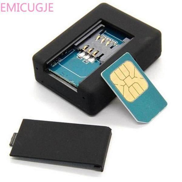 Bộ Định Vị Toàn Cầu Mini Màu Đen Dễ Thương Thời Gian Thực Cho Xe Ô Tô Trẻ Em Thú Cưng Thiết Bị Theo Dõi GSM/GPRS/Thiết Bị Theo Dõi GPS