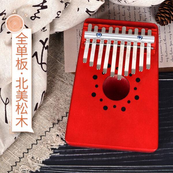 Carlin Đàn Piano Đàn Piano 17 Lưu Ý 10 Ngón Tay Và Ngón Tay Cái Thẻ Bạch Huyết Kalimba Phiên Carlin Của Ngón Tay Đàn Piano