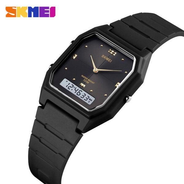 SKMEI Đồng hồ nữ casual Đồng hồ thời trang kỹ thuật sốMặt số nhỏkhông thấm nước 1604BKBK bán chạy