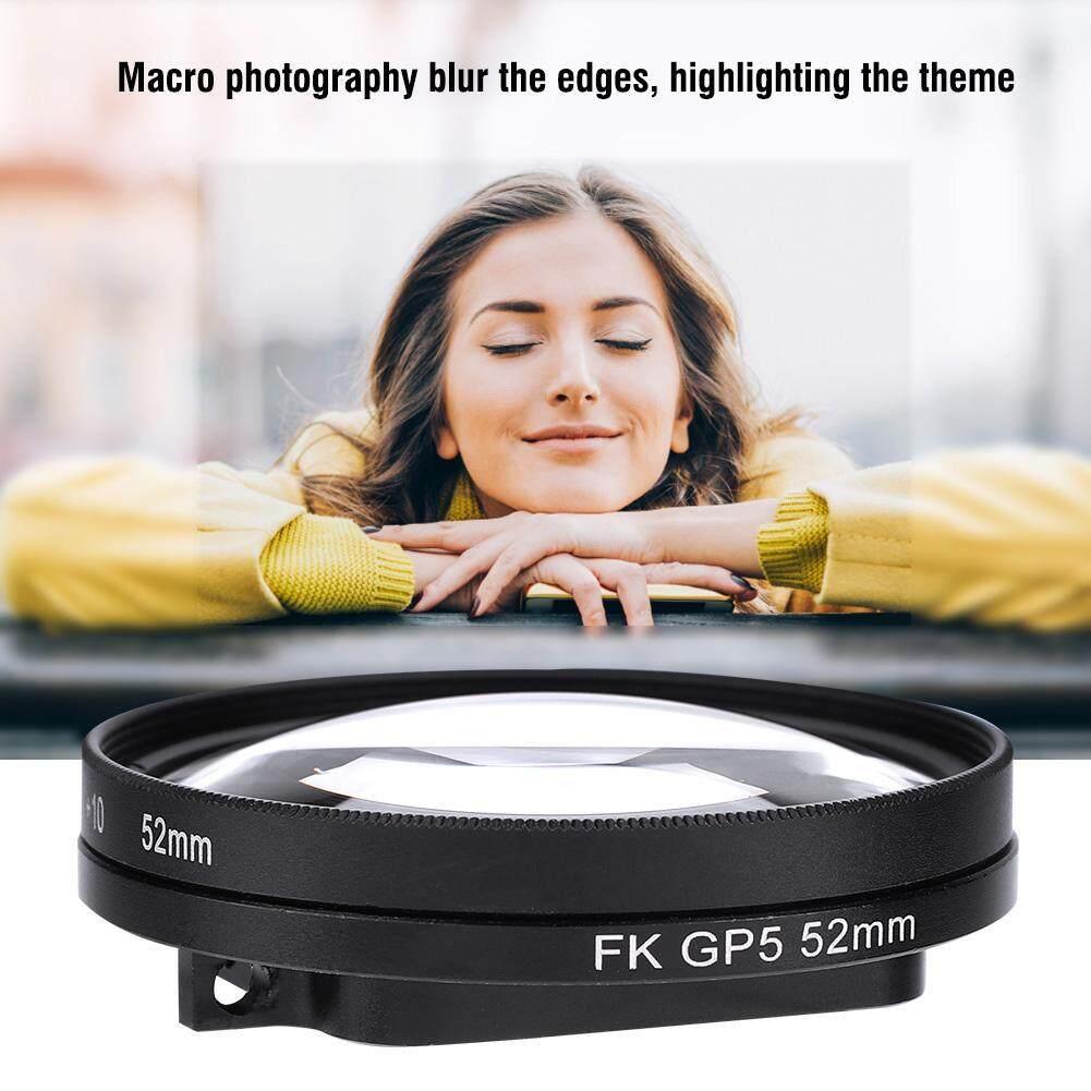 Coupon Giảm Giá 52 Mm 10X Magnifier Macro Cận Cảnh Ống Kính Cho GoPro Hero 6/5 Camera Hành Động
