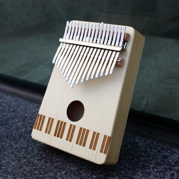 Kalimba 17 Keys with mahogany Wood Portable Mbira Finger Piano Gifts for Kids and piano Beginners Professional Instrument Malaysia