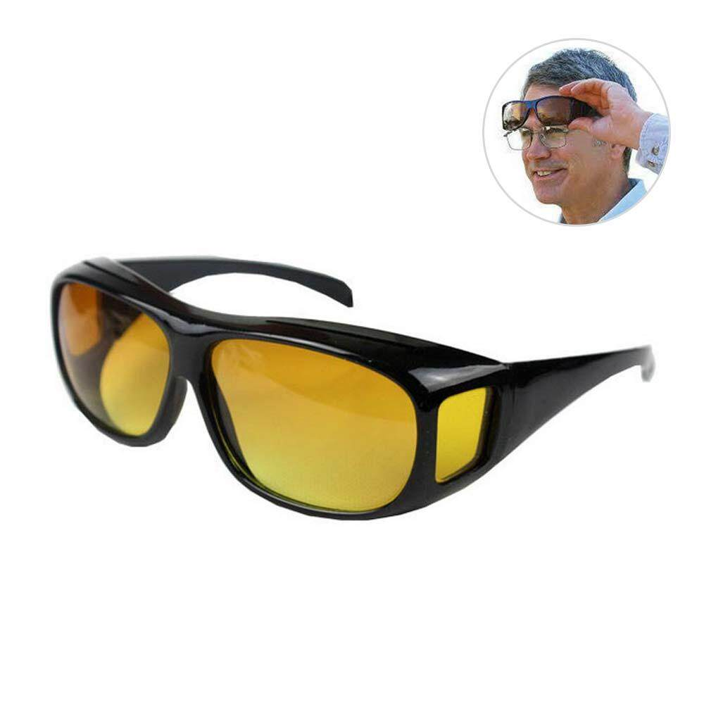 eae40874bbc5  Buy 1 Get 1 Free Night HD Vision Driving Sunglasses Wrap Around Glasses  Unisex