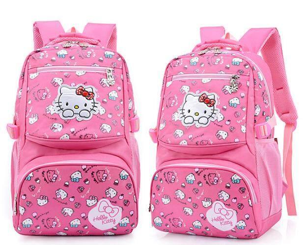 [READY STOCK] KT School Bag Hello kitty bag sekolah cantik bergaya