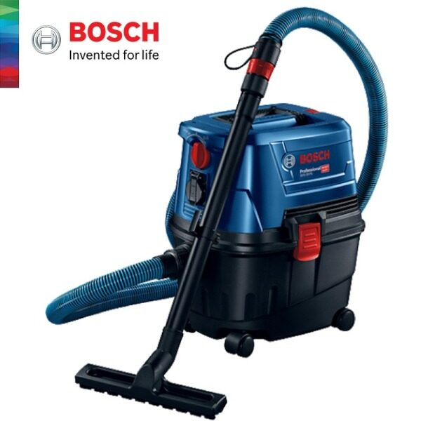 BOSCH Professional GAS 15 Wet or Dry Extractor Vacuuming And Blowing - 06019E50L0 - 3165140786522
