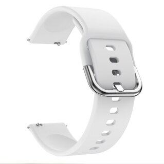 Dây Silicon 20 22Mm, Dây Đeo Thể Thao Cho Samsung Galaxy Watch Active 2 40 44 46 42Mm Huawei GT 2 42 46 Honor Magic 1 2 Dây Đeo Đồng Hồ thumbnail