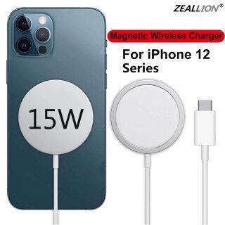 Nam Châm Sạc Không Dây 15W Zeallion Mới Nhất Cho iPhone 12 12 Mini 12 Pro 12 Max Loại USB C Qi Đệm Sạc Nhanh Kỳ Diệu thumbnail