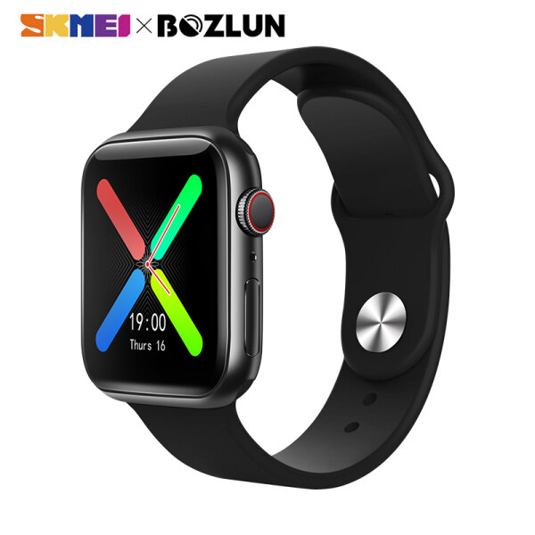 SKMEI BOZLUN Men Women Smart Watch Sports Bluetooth Call Heart Rate Monitor Waterproof Watch For Apple IOS Android Smartwatch T500 plus Malaysia