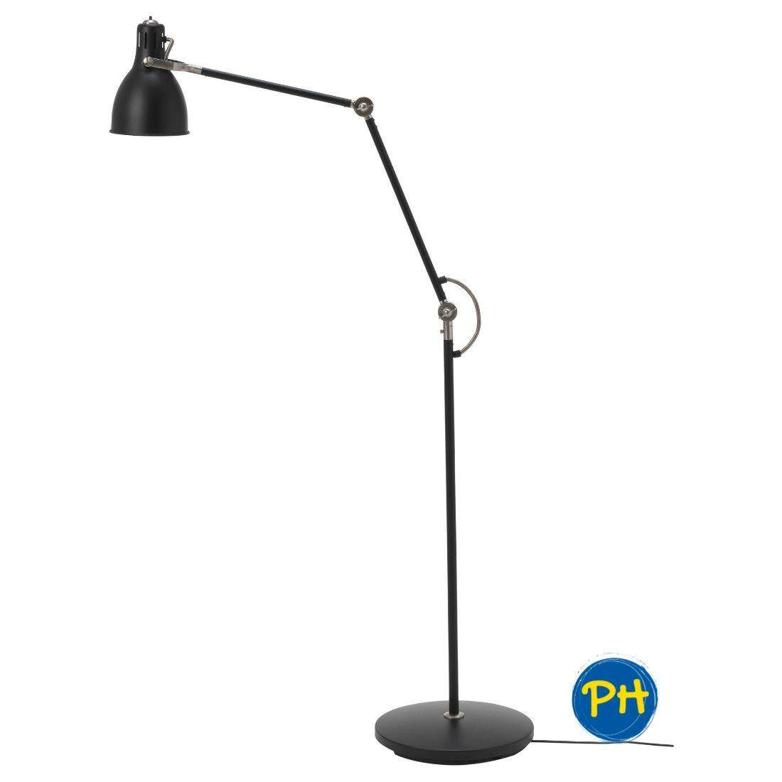 sports shoes 1548d 048a4 Ikea AROD 503.891.02 Floor / Reading Lamp (Black)