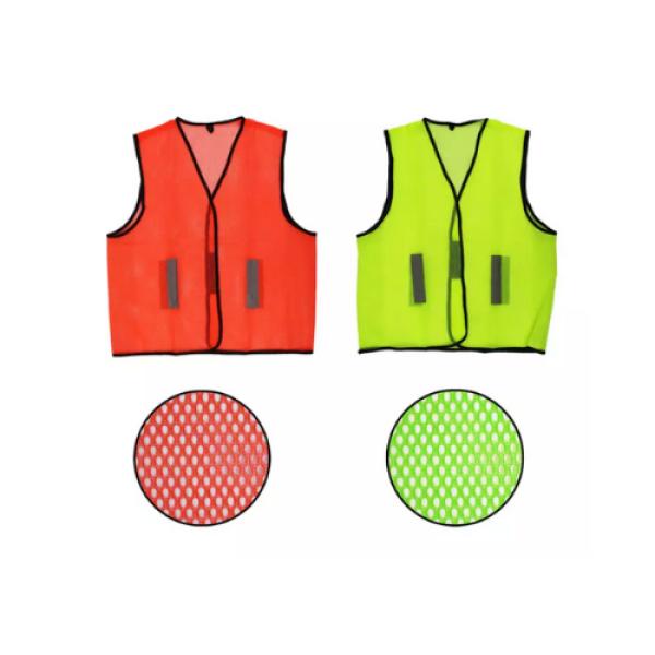 Chu Safety Vest L/D Reflective Line Safety Vest (Zip Type)   Netting Mesh Fabric