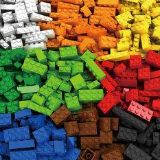 WUHUI 250-1000 cái Đồ chơi Khối xây dựng Tự làm Đồ chơi LeGoIng Đồ chơi Tự làm Sáng tạo Cổ điển Người tạo Gạch Đồ chơi Giáo dục Đồ chơi Đồ chơi Trẻ em Đồ chơi cho Bé trai Tương thích với Tất cả các Thương hiệu (không có hộp)