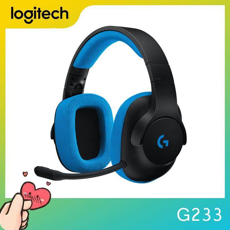 Logitech G233 Gaming Control Cable headset works with PS4 Xbox One Smartphones and Tablets PCs for all players Singapore