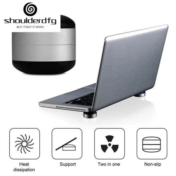 shoulderdfg Ready Stock High Quality Laptop Stand Magnet Portable Cooling Pad For MacBook Laptop Cool Ball Heat Dissipation Skidproof Pad Cooler Stand FREE SHIPPING 【COD】