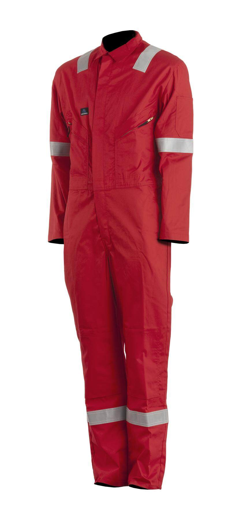 Cotton Coveralls Red EUR 54 (3XL)