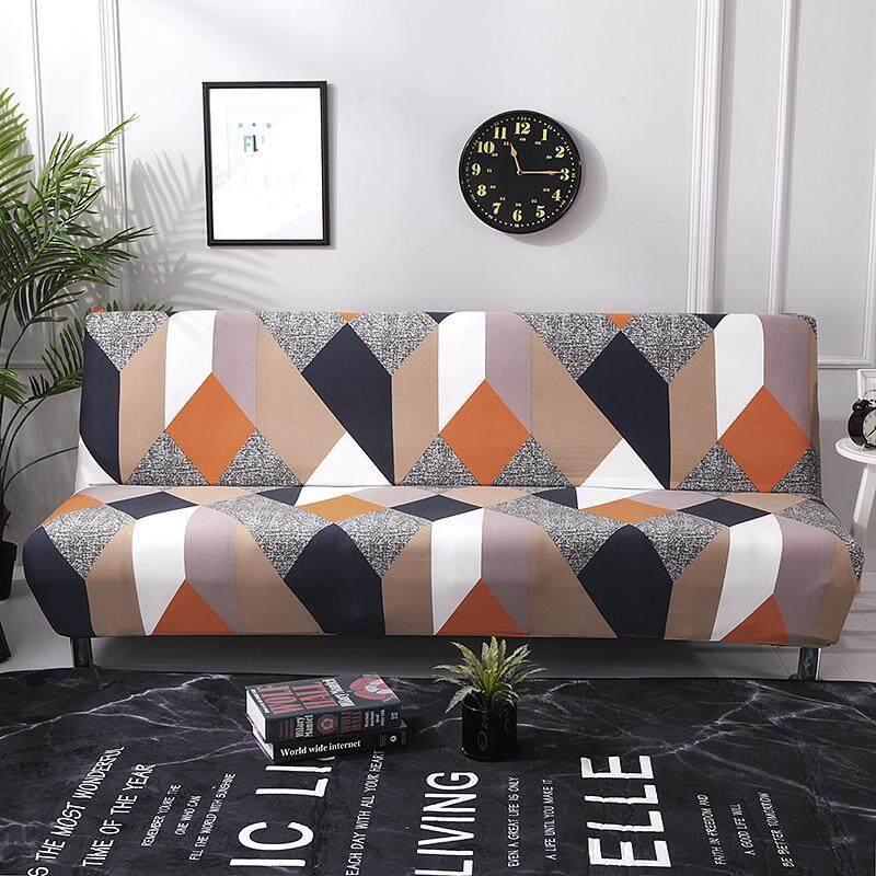 Sarung Sofa Santai Selimut Tebal Penuh Lipat Tanpa Lengan Elastis Kasur Sarung Penutup Sofa