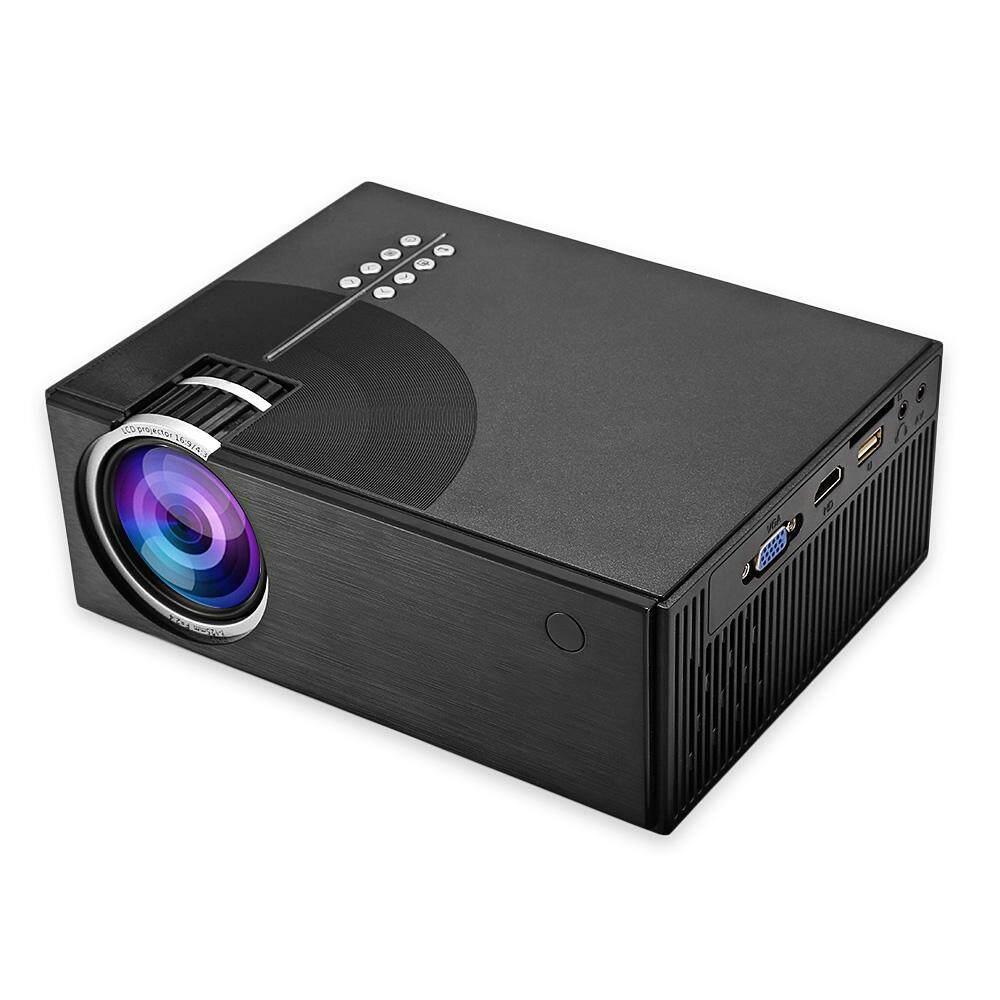 C7 LCD Portabel Proyektor Home Theater 2000 Lumens 800X480 P Dukungan 1080 P