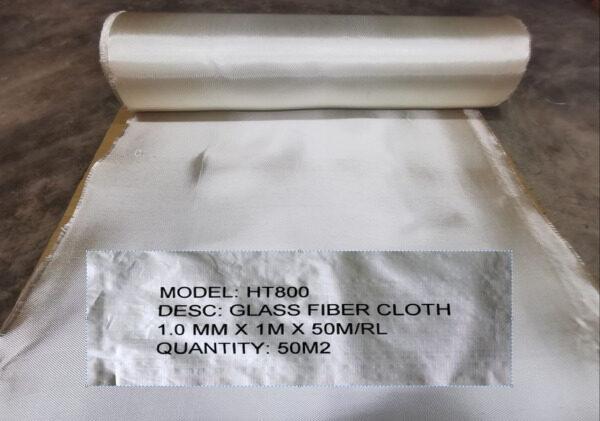 Fiberglass Blanket Gold Color 1.0mm x 1 Meter x 50 Meter  Per Roll
