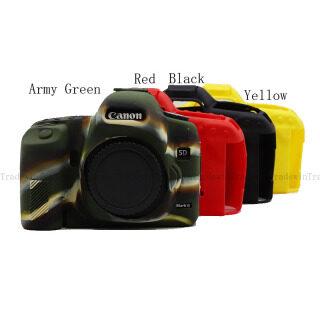 Ốp Thân Máy Ảnh Bằng Cao Su Silicon Mềm Dành Cho Canon EOS 5D2 EOS 5D Mark II thumbnail