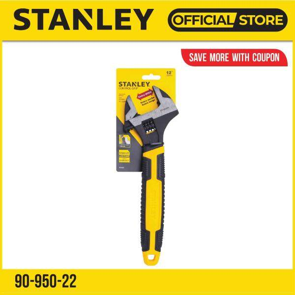 Stanley 90-950-22 (90-950) MaxSteel Adjustable Wrench 12in / 305mm