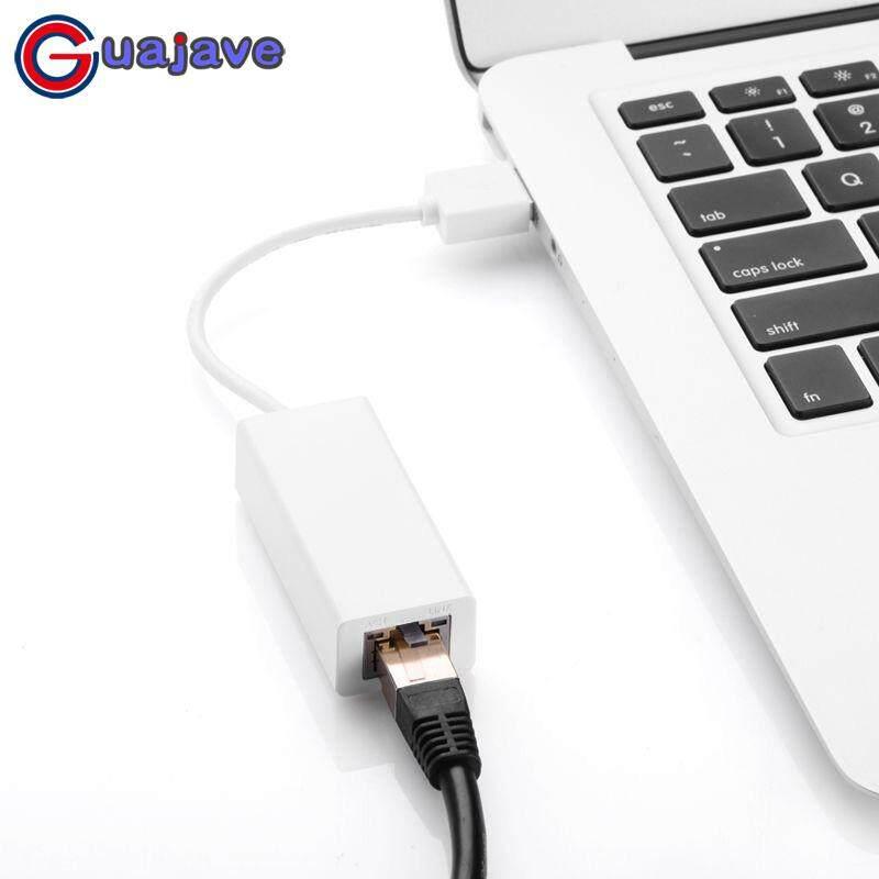 Guajave Usb 2.0 Rj45 อะแดปเตอร์อีเทอร์เน็ต Lan เครือข่าย 10/100 Mbps สำหรับ Win7.