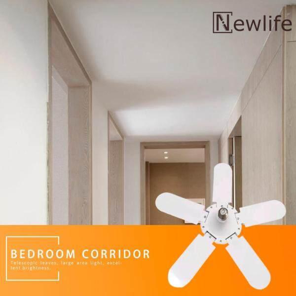 Tinh Tế 75W E27 Biến Dạng LED Xe May Đèn Cánh Quạt Góc Điều Chỉnh Nhà Đèn Ốp Trần