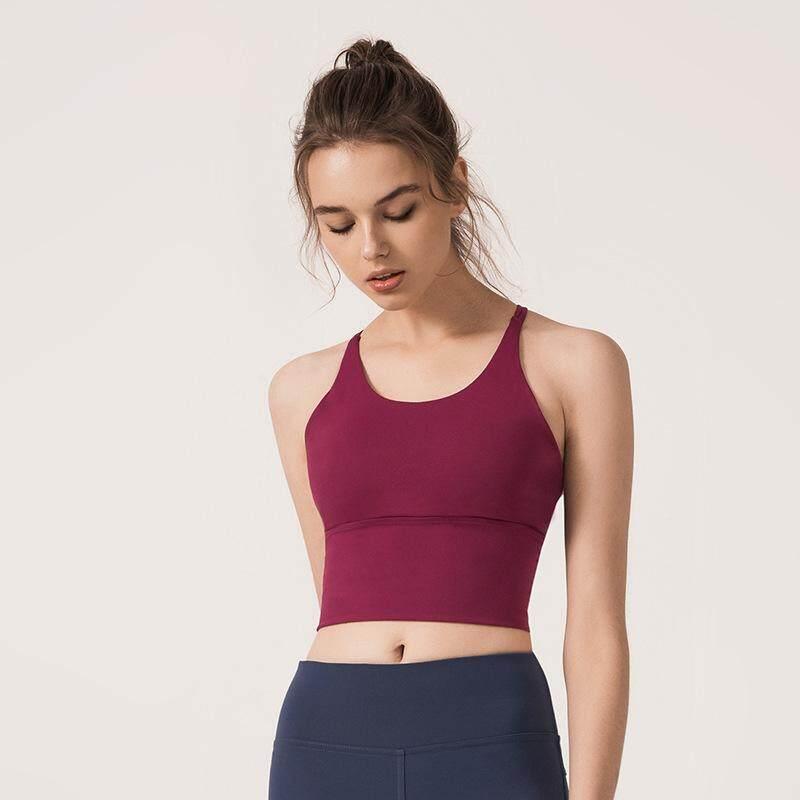 Berjalan Pakaian Olahraga Tangki Yoga Atasan Untuk Wanita Tipis Tali Bahu Menyeberangi Kembali By Superior Technology.