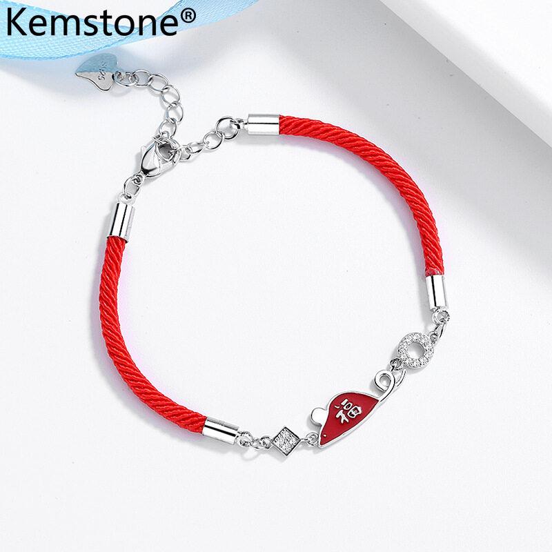 Luck Link Bracelet Bangle Chain Wristband Women Fashion Jewelry Gift