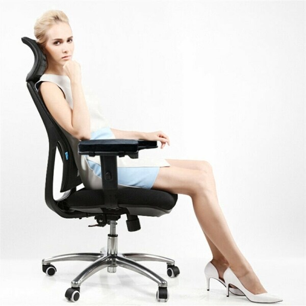 ▩♟ Gaming Chair Armrest Pads Soft Memory Foam Elbow Pillow Support for Most Chairs giá rẻ