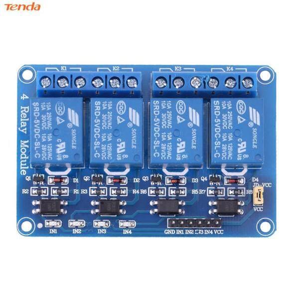 Bảng giá Mô Đun Rơ Le 4 Kênh 5V Với Optocoupler Cho PIC AVR DSP ARM Arduino Phong Vũ