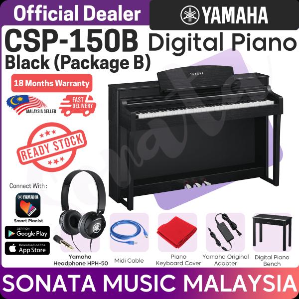 Yamaha Clavinova CSP-150 B Digital Piano  (CSP150 / CSP 150 / CSP150B / CSP 150 B / CSP 150B / CSP150 B ) Package B Malaysia