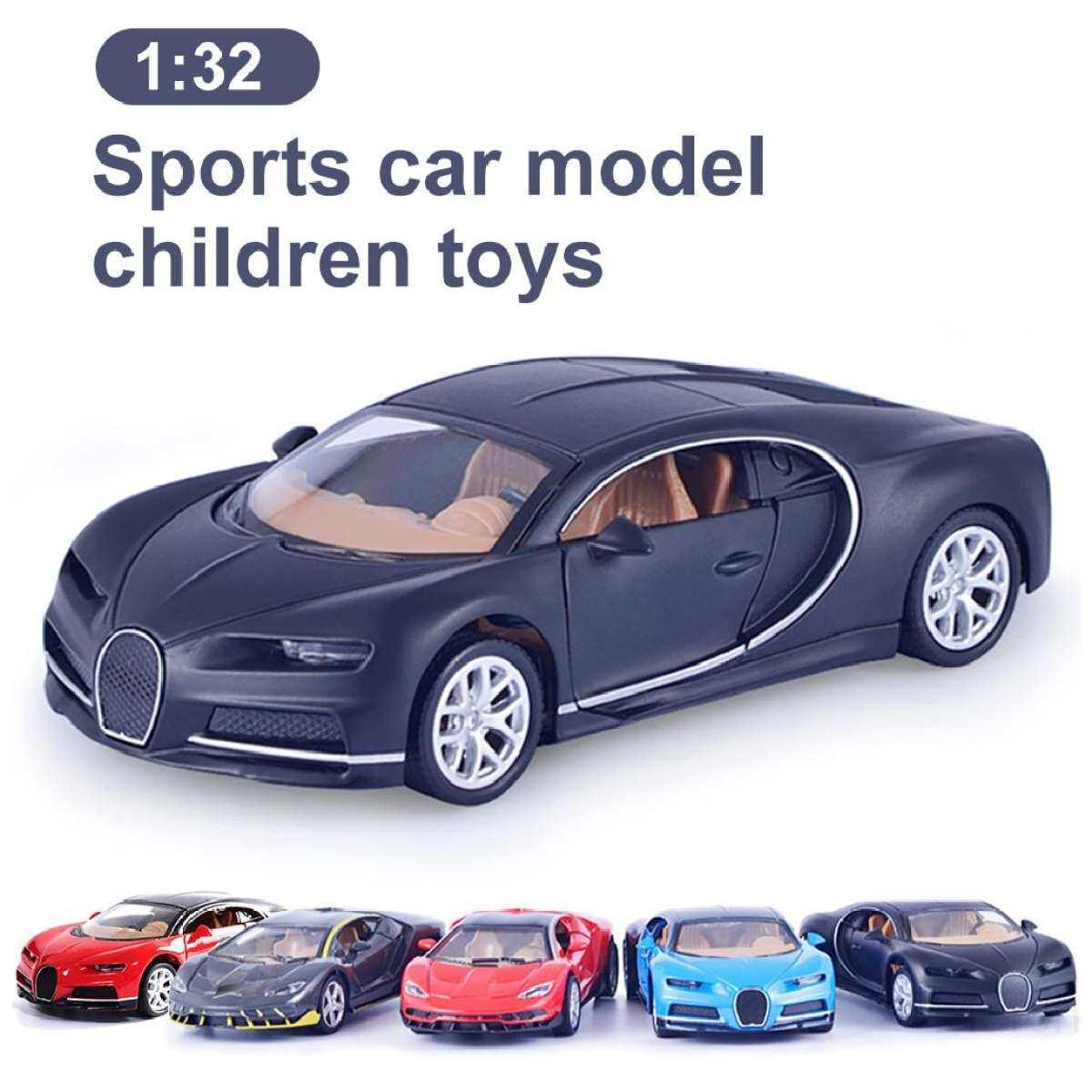 1 32 Alloy Simulation Car Model Of Lamborghini Bugatti Sports Car Cake Decoration For Children S Pull Back Toy Cvztik9p Lazada