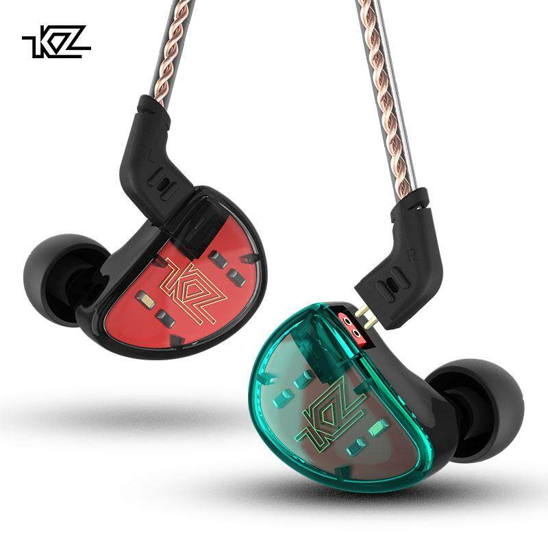 Kz As10 5ba Hifi Stereo In-Ear Earphone High Resolution Earbuds With 0.75mm 2 Pin Cable Five Balanced Armature Driver By Tommygo.