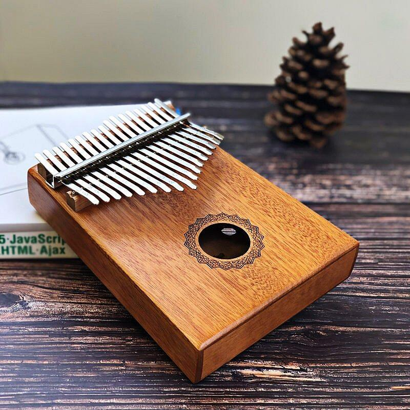 17 Keys Bull Kalimba Thumb Piano Mahogany Body Musical Instrument Best Quality And Price Malaysia