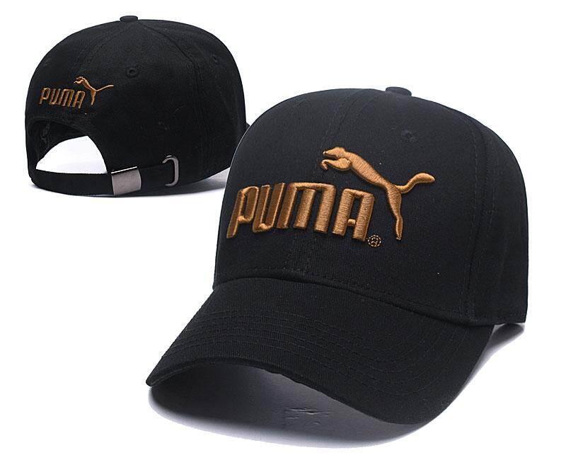 PUM adjustable casual hat men's cotton baseball cap fashion embroidery ladies baseball cap