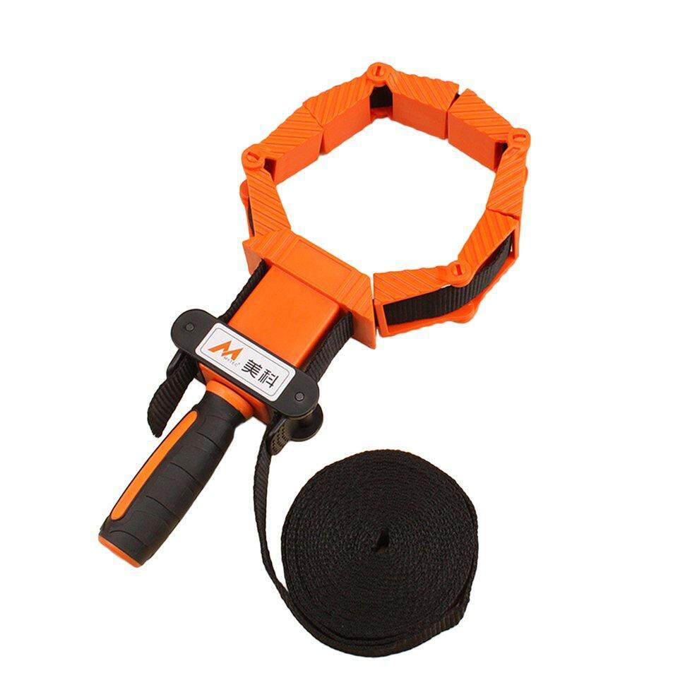 BGD 4m Nylon Straps Clip Multi-function Multilateral Angle Woodworking Tool Clamp