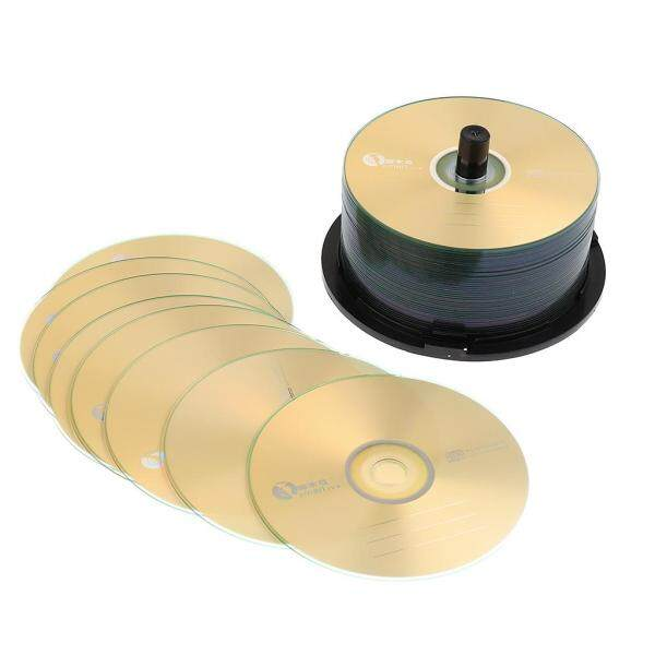 harayaa 50Pieces up to 52X CD-R Blank Spindles Recordable Discs CDs 700M/80MIN Audio Video Accessories