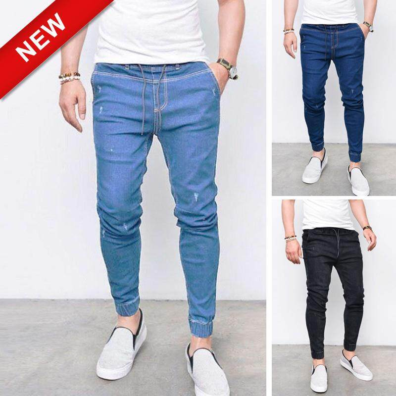 71ee1d7212db96 Victory Men Vintage Casual Jeans for men Joggers Pants【READY STOCK - High  Quality 】