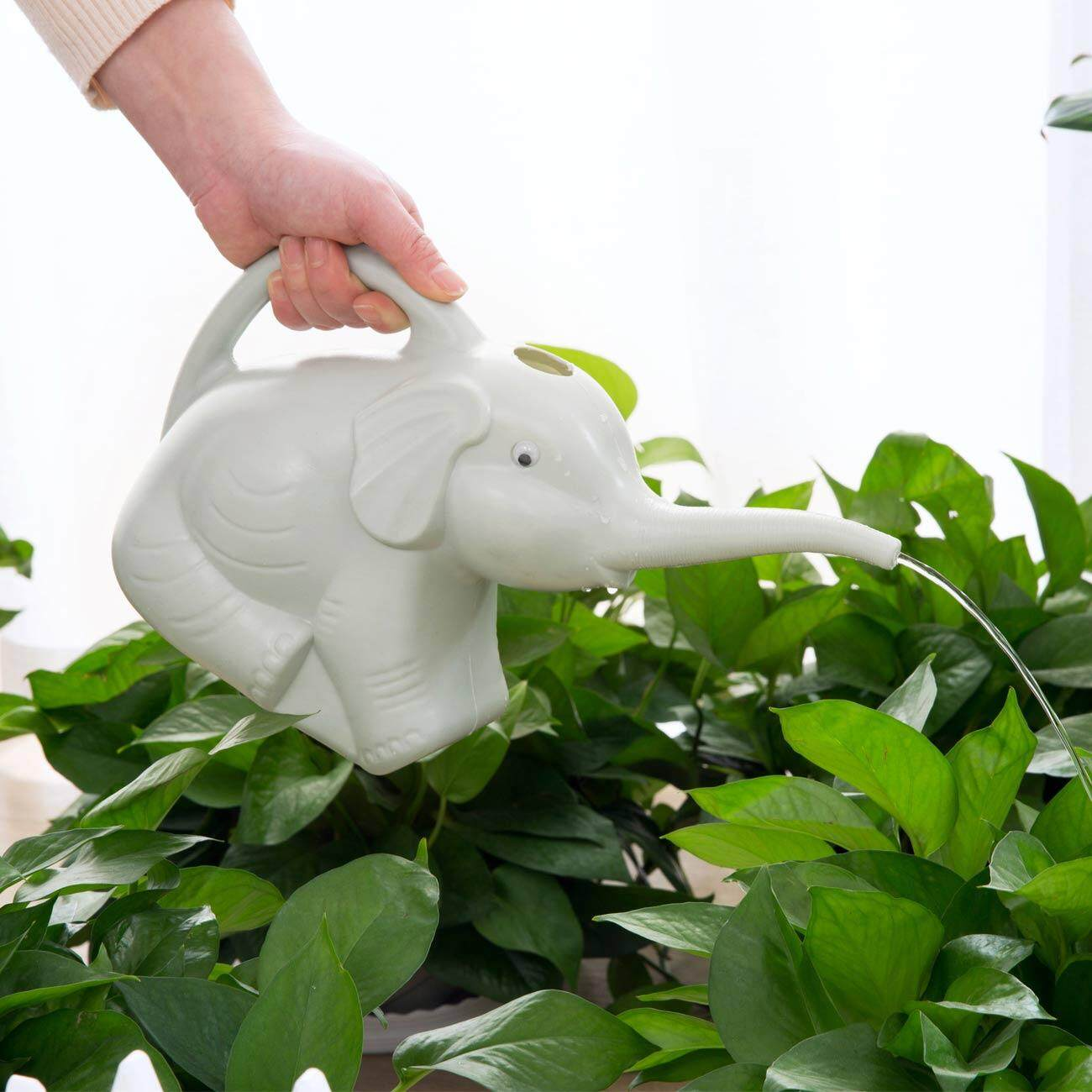 Homenhome Watering Can Elephant Shape Pot Home Garden Flowers Plants Watering Tool