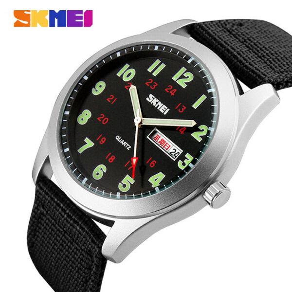 SKMEI Men Fashion Watch Quartz Waterproof Casual Watch Original 9112 Malaysia