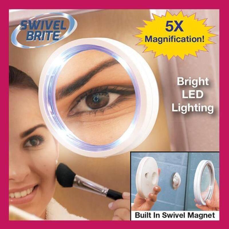 Buy Dream Best ~Swivel Brite 360 Degree LED Makeup Mirror Singapore