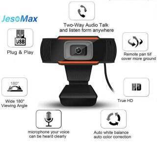 Webcam Aaest A870 USB 2.0 HD 1080P Có MIC Cho Máy Tính Để Bàn Quay Video Camera PC 30 Khung Hình Giây thumbnail
