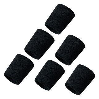 Băng Thấm Mồ Hôi Cotton Thể Thao Bóng Rổ Phi Giới Tính Sweatband Dây Đeo Cổ Tay Ban Nhạc Cổ Tay 6PC thumbnail