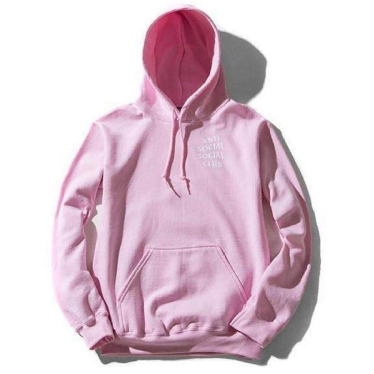 Kuhong Men Sweatshirts Autumn Fashion Hooded Hip Hop Style Streetwear Tracksuit Hoodies Pink - intl